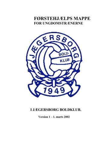FØRSTEHJÆLPS MAPPE - Jægersborg Boldklub