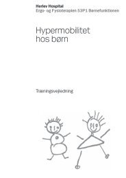 Hypermobilitet hos børn - Herlev Hospital