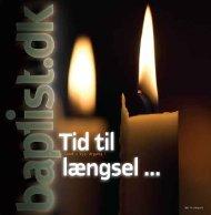 ‹ Nr. 8 ›‹ 2008 ›‹ 155. årgang › - Baptistkirken i Danmark