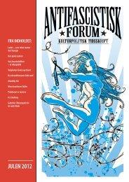 JULEN 2012 - Foreningen Antifascistisk Forum