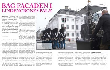 Bag facaden i Lindencrones palæ.pdf - Bygningskultur Danmark