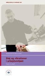 Støj og vibrationer i arbejdsmiljøet - Det Nationale Forskningscenter ...