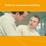 Politik for kompetenceudvikling - Silkeborg Kommune