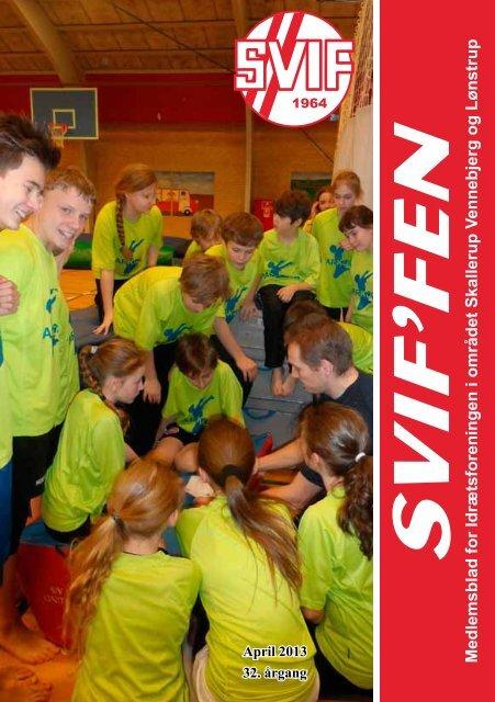 SVIFFEN april 2013 - Skallerup-Vennebjerg Idrætsforening