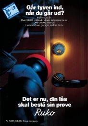 Folder om låsesikkerhed - Himmerlands Låse & Sikring