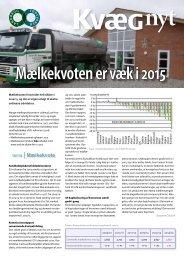 Kvæg Nyt nr. 12 - 2011 - Videncentret for Landbrug