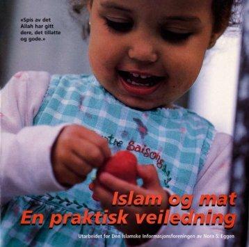 Islam og mat. En praktisk veiledning - DIIF