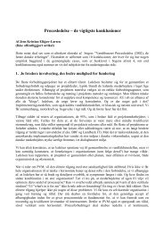 Procesledelse - de vigtigste konklusioneraf Jens Kristian ... - CBS