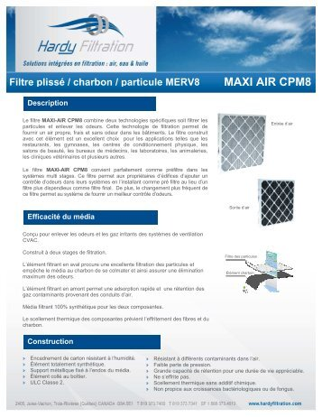 CPM8 - Hardy Filtration