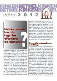 september-oktober 2012 - Bethelkirken