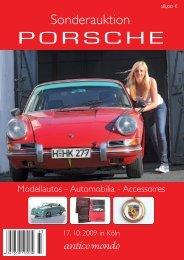 "Sonderauktion ""Porsche"" - Antico Mondo"