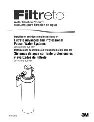 Filtrete Advanced and Professional Faucet Water Systems Sistemas ...