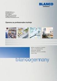 Katalog izdelkov - Blanco - Prometheus doo