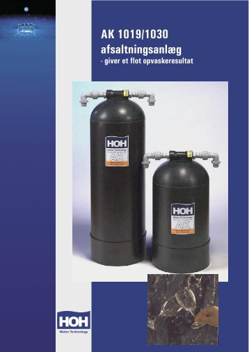 AK 1019/1030 afsaltningsanlæg - VITA Danmark