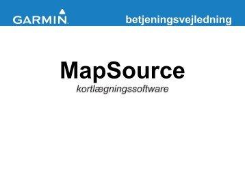 MapSource - Garmin