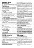 WD 245, WD 260 - Selectra - Page 7