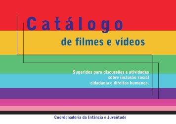 CATÁLOGO DE FILMES - Poder Judiciário de Pernambuco
