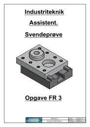 Forside Opgave FR 3 - Industriens Uddannelser