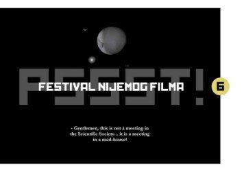 Festival nijemog filma 2012 - PSSST! FESTIVAL NIJEMOG FILMA
