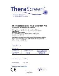 TheraScreen®: K-RAS Mutation Kit