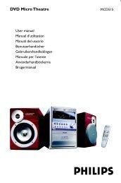 DVD Micro Theatre - Philips