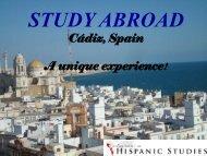 STUDY ABROAD - University of Houston
