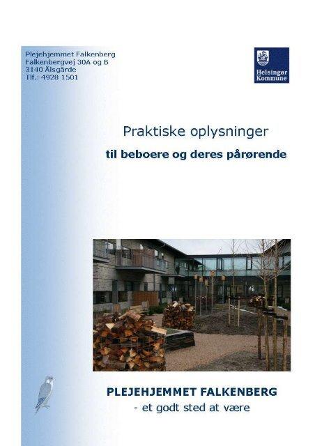 Pjece – praktiske oplysninger - Plejehjemmet Falkenberg