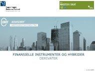 Finansielle instrumenter og hybrider I - Corit Advisory
