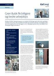 Grøn Butik fik billigere og bedre arbejdslys
