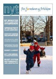 NYT december 2007 - Frie Børnehaver og Fritidshjem