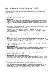 Referat fra bestyrelsesmødet d. 13 august 2011 - Bregnehøj ...