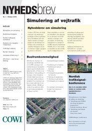 VISSIM nyhedsbrev oktober 2003.pdf - Cowi