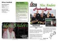 PROGRAM Århus Jazzklub Hos Anders - Aarhus Jazzklub