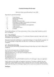 Referat af ordinær generalforsamling d. 8. marts 2006 - Hvedevænget