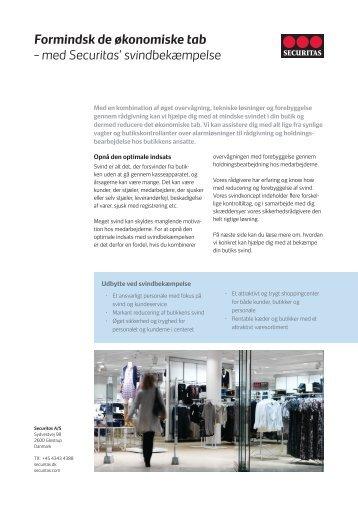 Formindsk de økonomiske tab.pdf - Securitas
