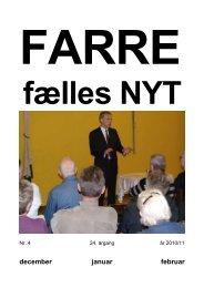 januar 2011 - Farre