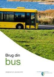 Brug din bus - 2010 - Vordingborg Kommune