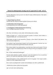 Referat fra afdelingsmødet, torsdag, den 30 ... - Almenbo Aarhus