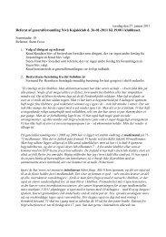 Generalforsamling 2011 PDF - Nivå Kajakklub