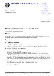 Referat fra beboermøde d. 2. marts 2010 - Aabenraa Almene ...