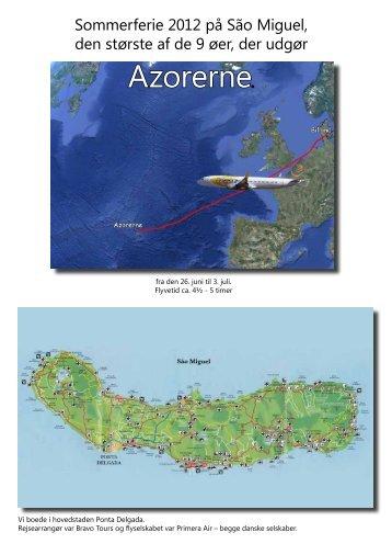 Azorerne 2012