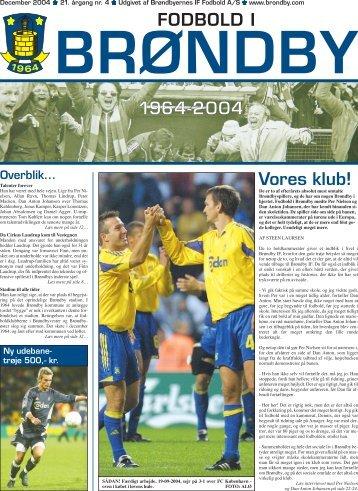 Vores klub! FODBOLD I 1964-2004 - Brondby.com