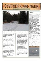 nyhedsbrev marts 2010 - Øko-Land Mørkøv