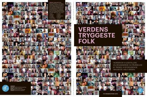 "Download Ifs årsrapport ""Verdens tryggeste folk"" - If Skadeforsikring"