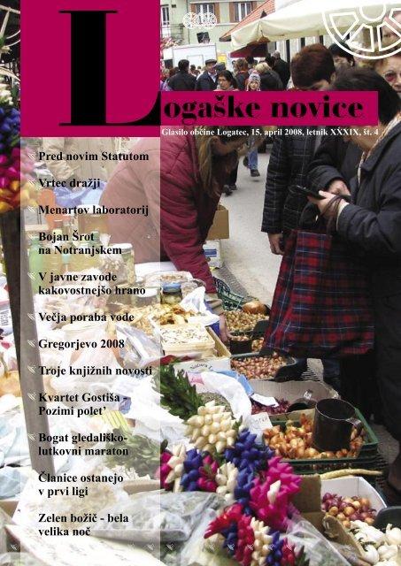 april 2008 - Občina Logatec