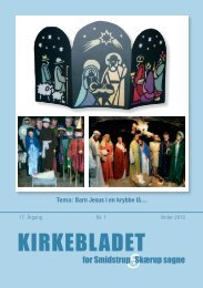 Kirkebladet december 2011 - Smidstrup og Skærup Kirker