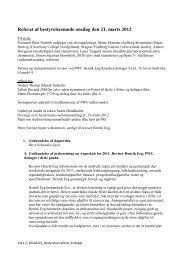 Referat fra mødet den 21. marts