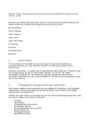 Referat af den ordinære generalforsamling i Dansk Forfatterforening ...