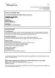 Bilag 1. Referat af LBR- mødet d. 14. juni, 2012. - Rødovre Kommune