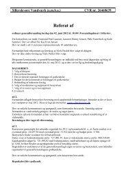 Referat fra generalforsamlingen 2012 - Sillerslevøre